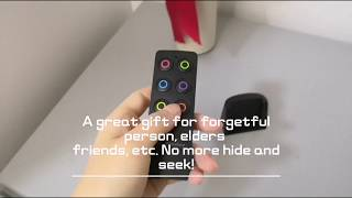 How to Use a Key Finder to Find the Items Hide in the Room : Yimaler Key Finder Item locator