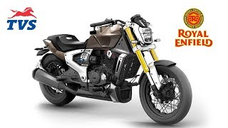 Royal Enfield Competitor TVS Zeppelin - King Indian