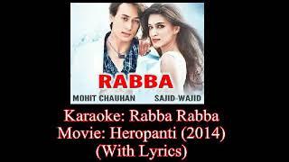 Rabba Rabba For Karaoke Singer