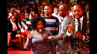 Pastor Alph accurately describes this woman to the amazement of everyone. She is healed