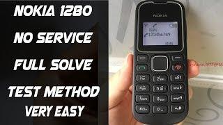 Nokia 1280 No Network Signal Problem Solution