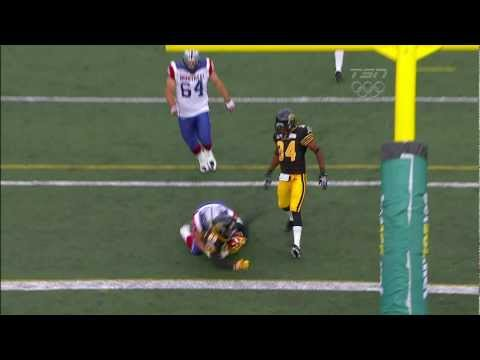 CFL Chris Williams Celebrates Too Early on Missed Field Goal Return