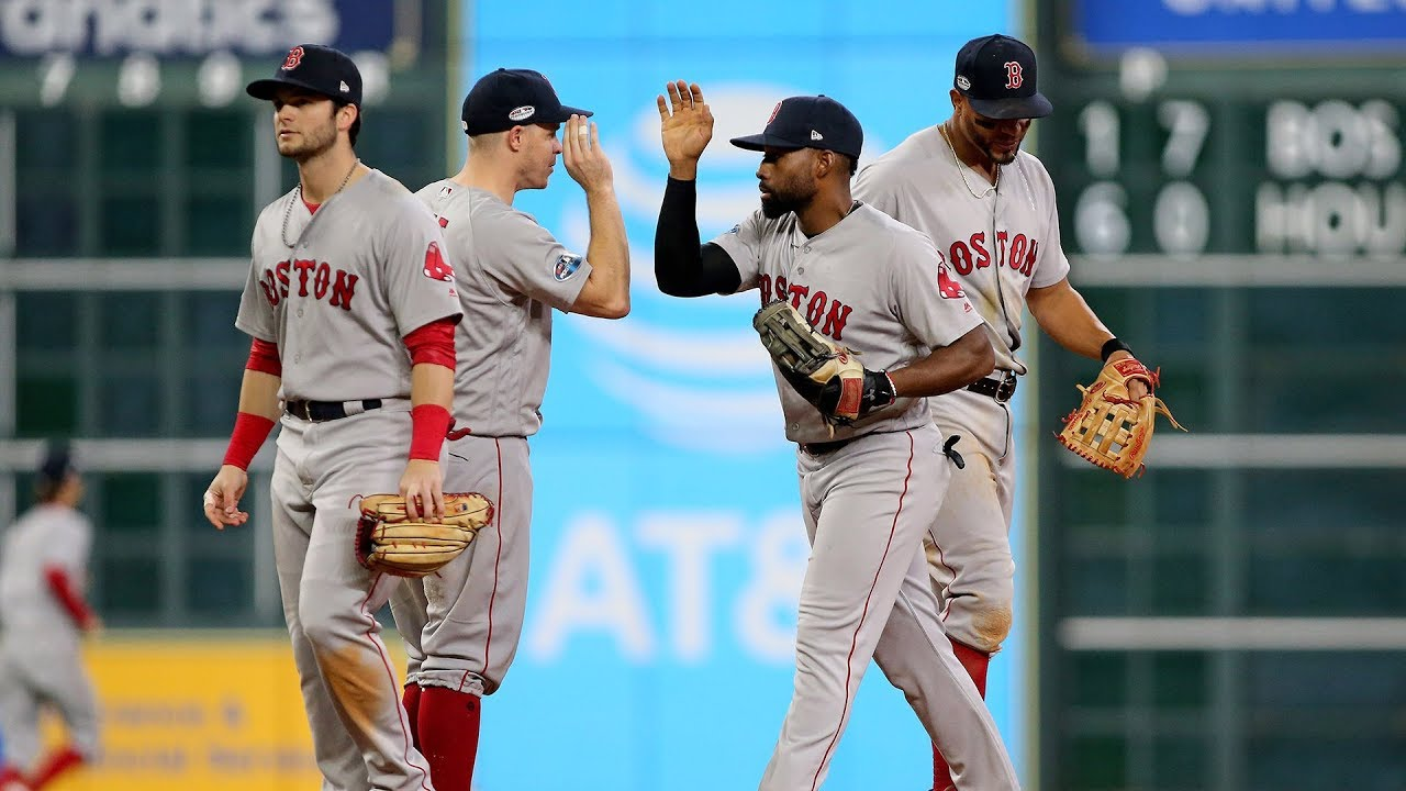 Red Sox defeat the Astros in Game 3