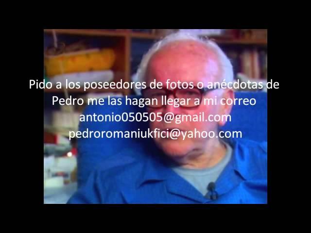 Pedro Romaniuk BSP antonio 3 que opina de la muerte