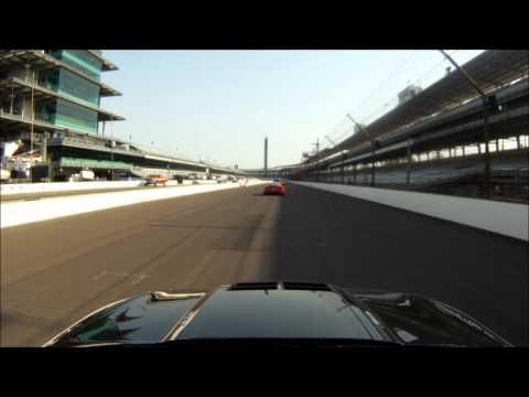 2012 Camaro ZL1 around Indianapolis Motor Speedway GoPro