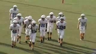 2013-14 MIDDLE SCHOOL FOOTBALL : RAA RAMS vs. NIMS (FIRST HALF - Leon County - Tallahassee, FL)
