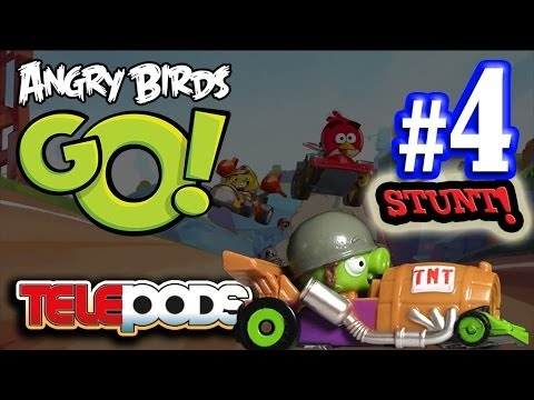 angry birds go stunt videolike