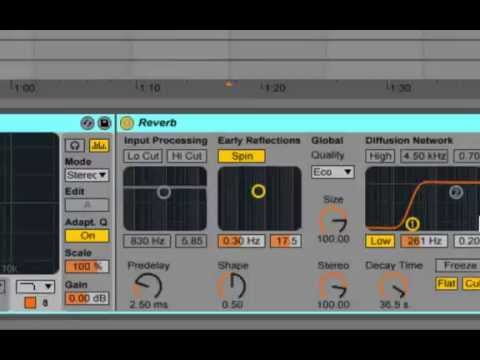 Delay Tape Ableton Preset Tape Delay eq