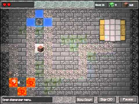 Minecraft Tower Defence - Dungeon