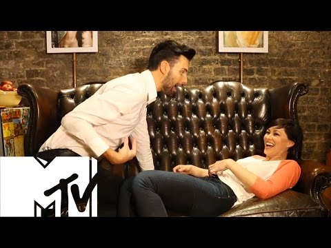 Rylan Gives Emma Willis A Vajazzle - Celebrity Big Brother