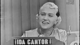 What's My Line? - Ida Cantor (Apr 19, 1953)