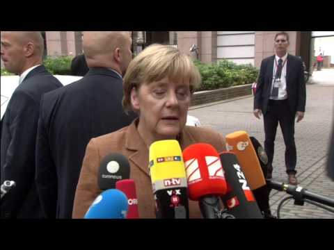 Merkel on refugee crisis: 'International programmes are not sufficiently financed'