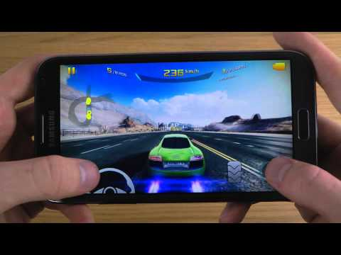 Asphalt 8: Airborne Samsung Galaxy Note 2 HD Gameplay Review