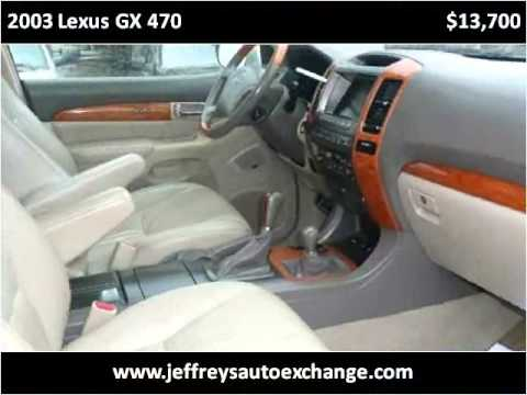 2003 Lexus GX 470 Used Cars Scottsburg IN