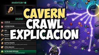 CAVERN CRAWL BATTLE PASS EXPLICACION | DOTA 2 TI8