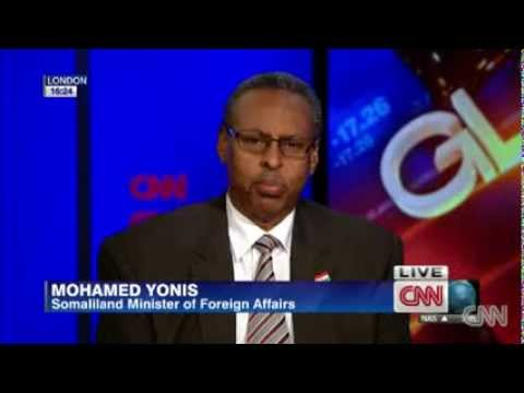 SAXAFI NEWS: CNN talks to Somaliland Foreign Minister Mohamed Yonis.