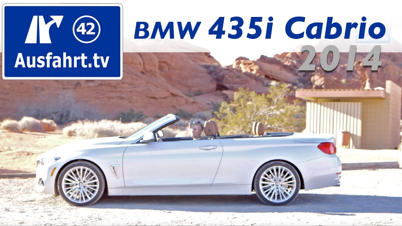 2014 bmw 435i cabriolet fahrbericht test testdrive erfahrungen probefahrt 4er cabrio youtube. Black Bedroom Furniture Sets. Home Design Ideas