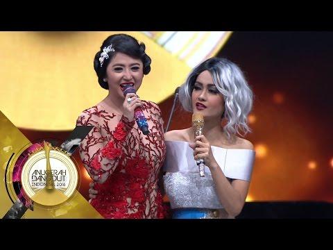 Eksklusif!! Dewi Perssik dan Julia Perez Baikan dan Nyanyi Bareng - ADI 2016 (5/12)