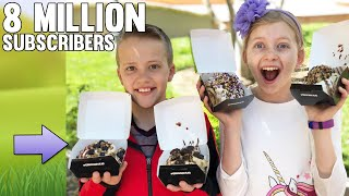 Kids Take Over Cinnaholic -- 8 MILLION SUBSCRIBERS PARTY!!!!!!!!!!!!