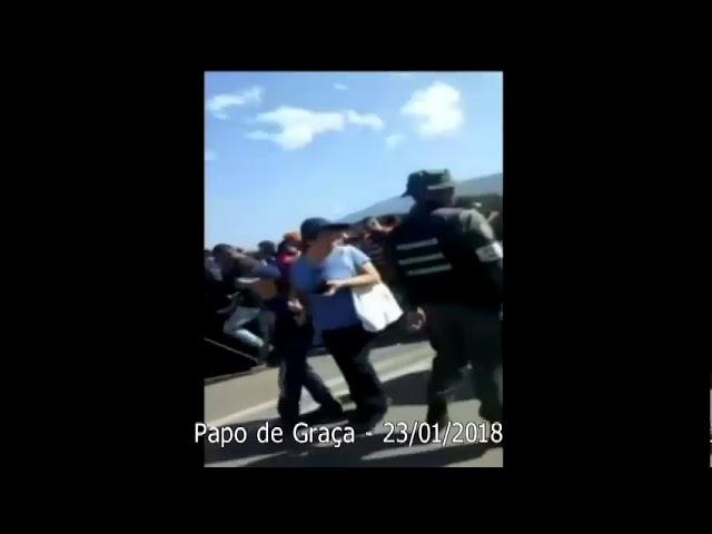 Venezuela sob dominação narcisista: O êxodo dos famintos.