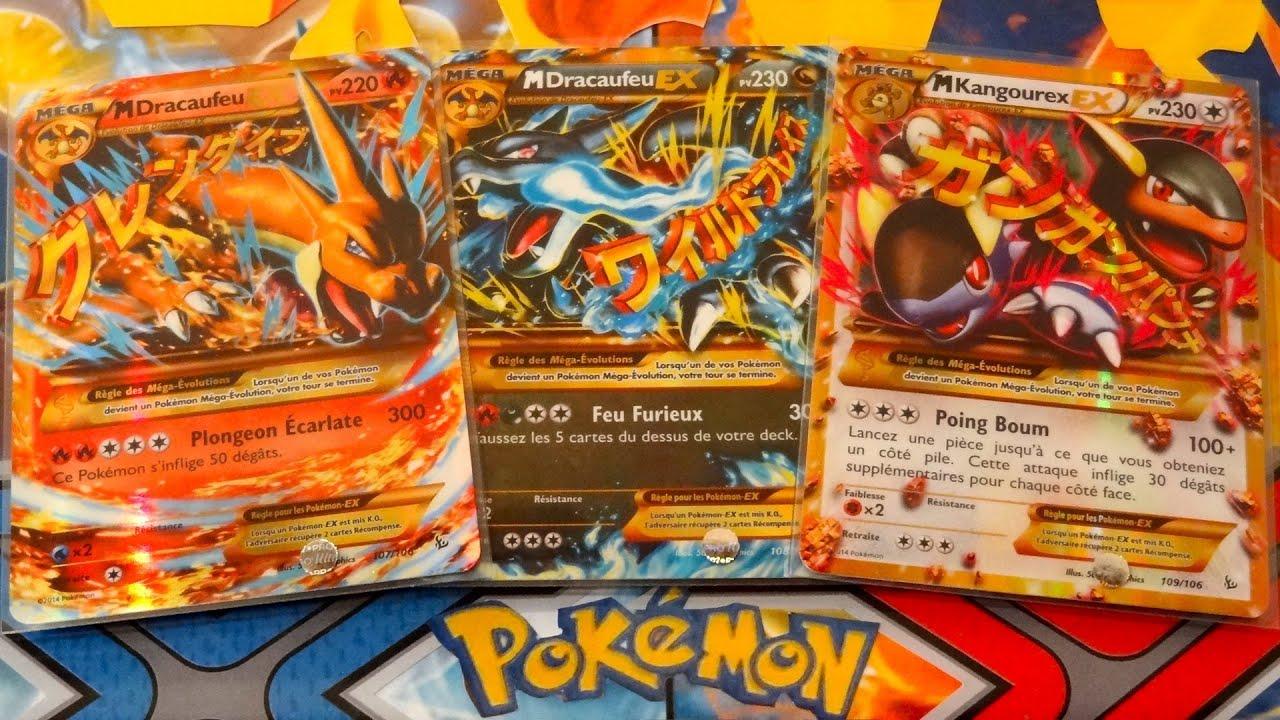 R ception des 3 cartes pok mon ultra rares secretes xy - Pokemon mega kangourex ...