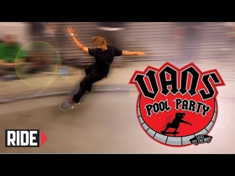Vans Pool Party 2013 - Qualifiers