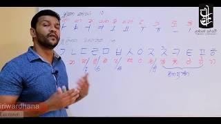 Learn Korean in Sinhala - Lesson 01 - කොරියානු හෝඩිය