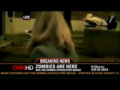 Breaking News Real Zombies 2012 CNN Music Videos