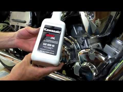 Yamaha Road Star  Oil Change