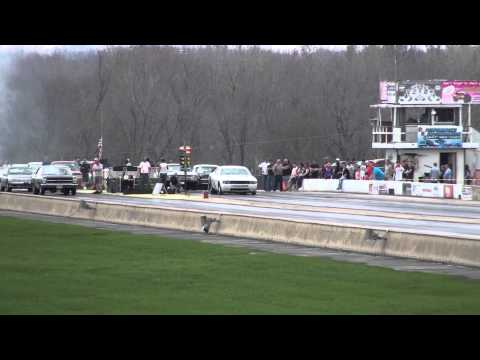V10 Dodge Challenger Drag Car