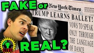 This Video is FAKE NEWS! | Fake News Game