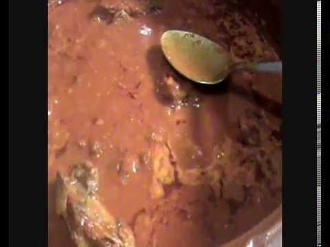 Receta de espinazo de cerdo con chile guajillo o cascabel