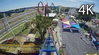 Texas Tornado front seat on-ride 4K POV Wonderland Amusement Park