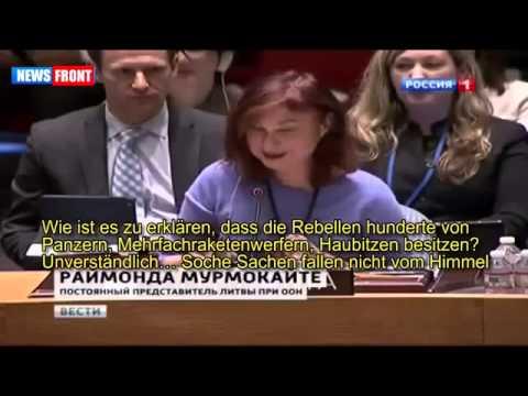 Russ. TV über UN Sicherheitsrat Abstimmung zur Ukraine