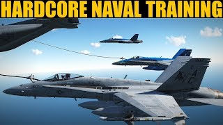 Intense 20-Man Naval Operations Training Session | DCS WORLD