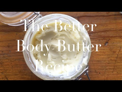 Perfect Pregnant Belly Butter. DIY
