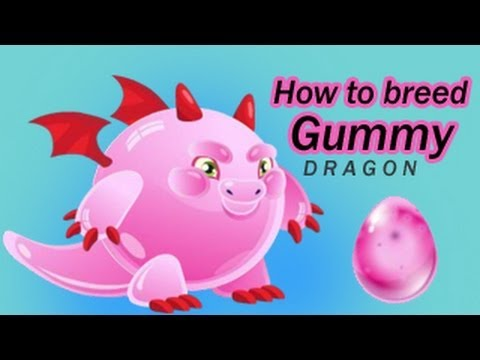 How To Get Gummy Dragon By Breeding In Dragon City