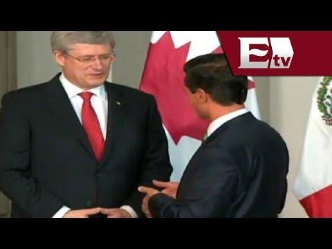 Cumbre Toluca 2014: Harper asegura que será un honor ser anfitrión para la Cumbre 2015