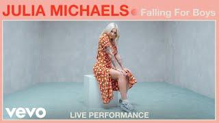 "Julia Michaels - ""Falling For Boys"" Live Performance   Vevo"