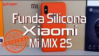 Funda Silicona Original Xiaomi Mi MIX 2S