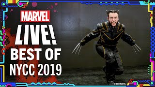 Best NYCC 2019 Moments! | Marvel LIVE!
