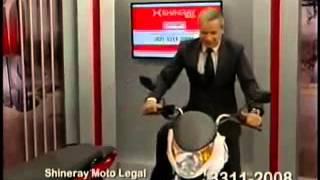 Planto Alagoas  Siqueira Junior caindo de moto