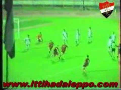 Jabala 2 - 2 Al Ittihad Aleppo. Jesus Gomez Jonathan Laurens