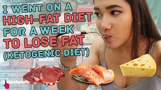 I Went On A High Fat Diet For A Week To Lose Fat (Ketogenic Diet) - No Sweat: EP7