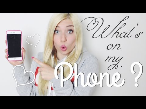 WHAT'S ON MY PHONE ? ♡  BibisBeautyPalace