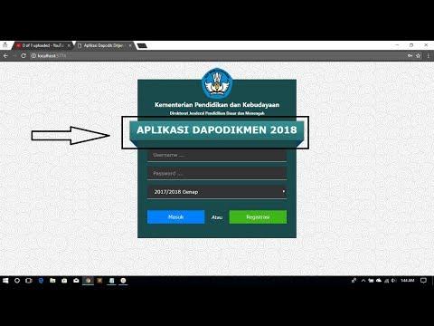 Metode Hacking Aplikasi Dapodik 2018 (part 2) - [Hacking Tutorial Series]