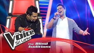 Dion Nanayakkara - Nadee Ganga Tharanaye |Blind Auditions  | The Voice Sri Lanka