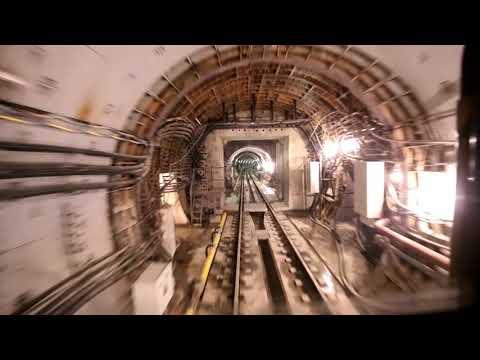 Пробный поезд на Люблинско-Дмитровской линии