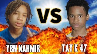 YBN NAHMIR VS. TAY K 47 | VERSUS | Before They Were Famous