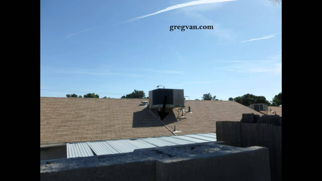 Roof Air Conditioning Condensation Drains Youtube